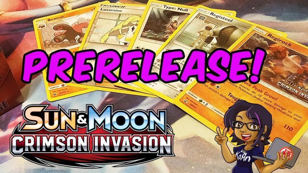 Pokemon Crimson Invasion Pre-Release