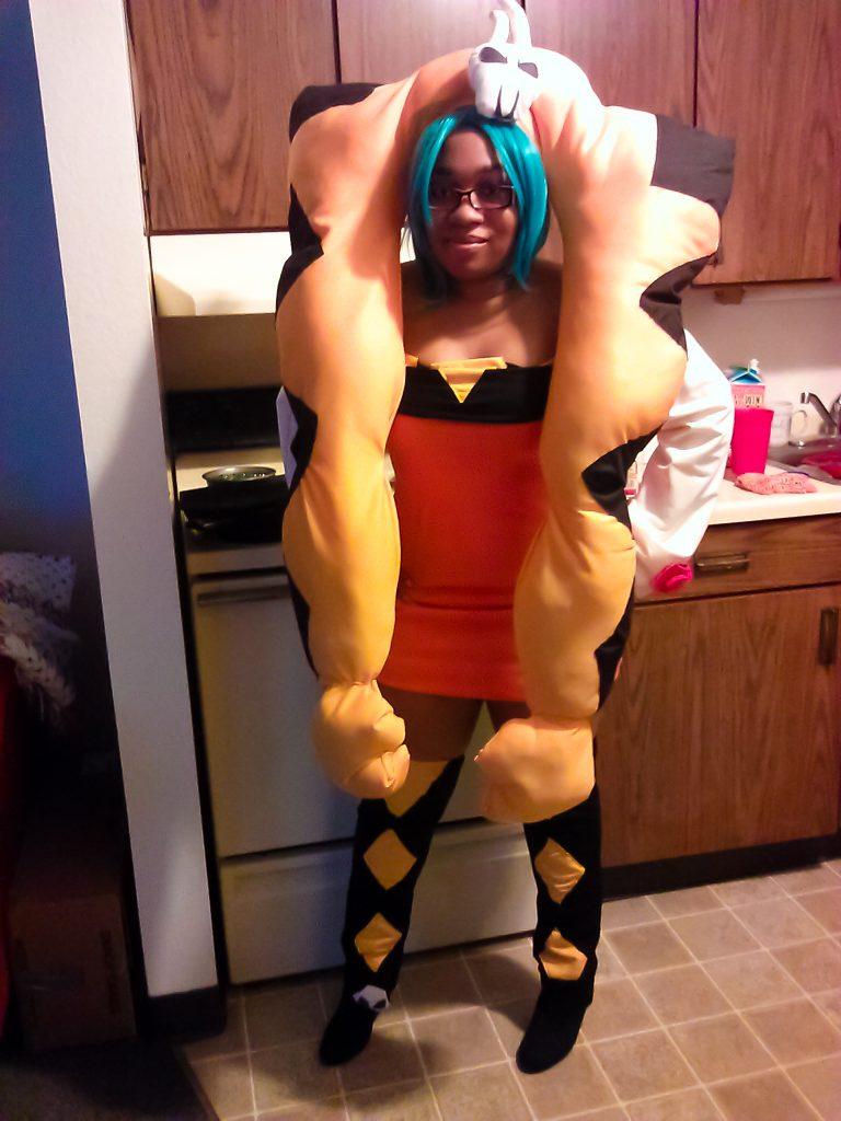 Cerebella from Skullgirls cosplay by cosplayer KittieOnALeash