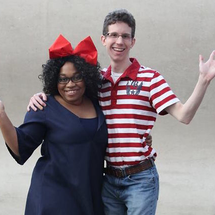 Kiki & Tombo Kiki's Delivery Service cosplay by Cosplayer KittieOnALeash and MangaMan Reviews
