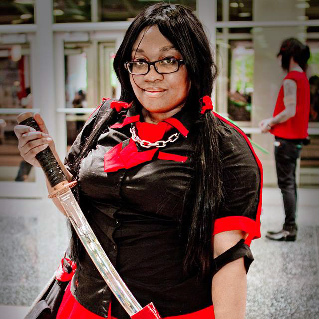 Saya Kisaragi Blood C cosplay by cosplayer KittieOnALeash