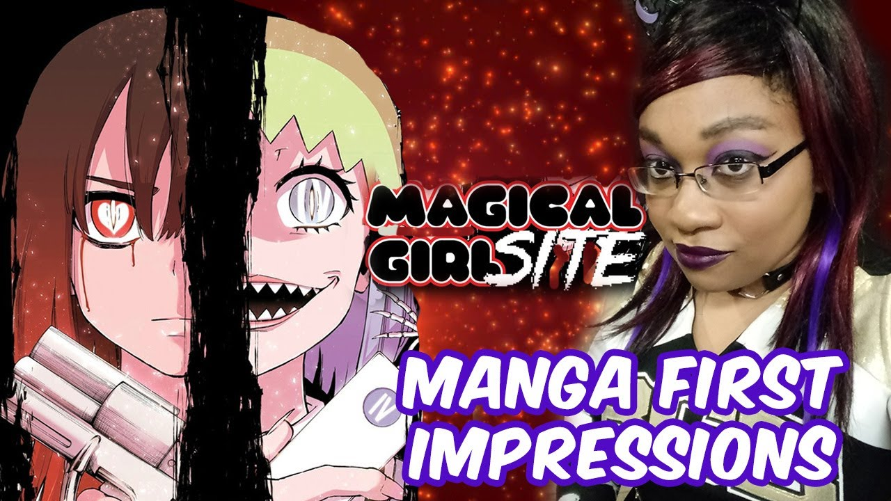 Magical Girl Site Manga Review - KittieOnALeash