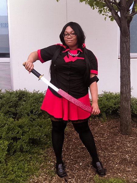 Saya - Blood C Anime cosplay by KittieOnALeash